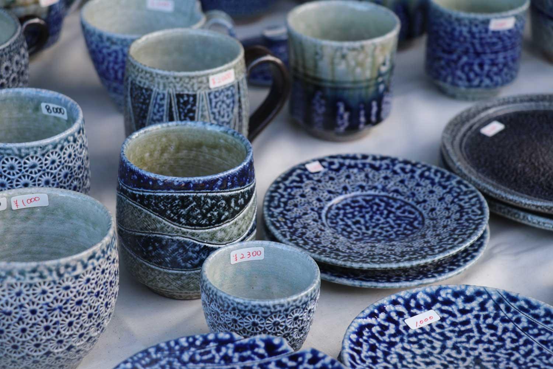 丸田窯 秋の陶器まつり 塩釉