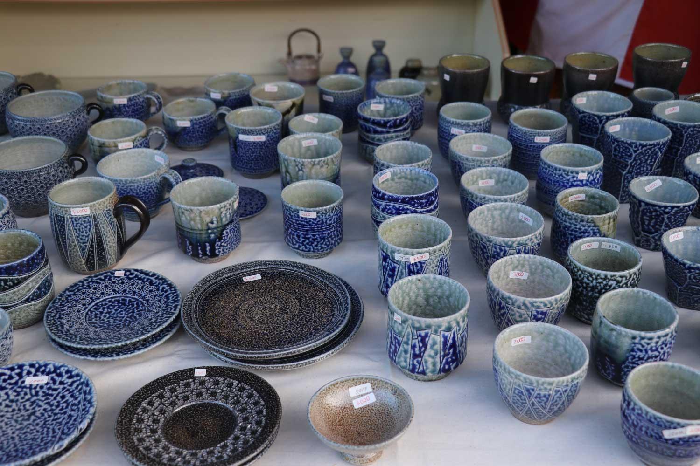 丸田窯 秋の陶器まつり 塩釉2